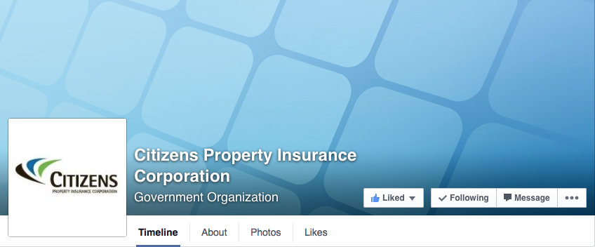 Citizens Property Insurance | Facebook Page