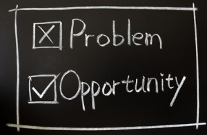 Problem and opportunity check boxes